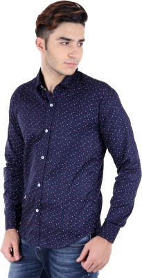 Rakshita Collection Men's Solid Wedding, Casual, Party Blue Shirt