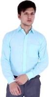 Basics Formal Shirts (Men's) - Shine Basics Men's Solid Formal Light Blue Shirt