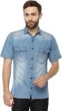 FX Jeans Co Men's Solid Casual Denim Blu...