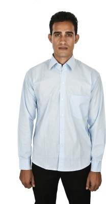 Venga Men's Solid Casual Blue Shirt
