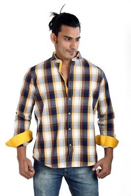 Faceman Men's Checkered Casual Multicolor Shirt