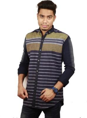Etyhas Collections Men's Checkered Casual Blue, Green Shirt