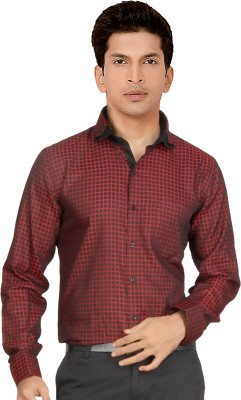 Red Country Men's Checkered Casual Red, Black Shirt
