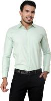 American Cult Formal Shirts (Men's) - American Cult Men's Checkered Formal Light Green Shirt