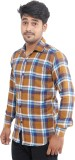 Oshano Men's Checkered Casual Multicolor...