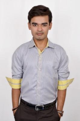 Silvercuffs Men's Striped Casual Multicolor Shirt