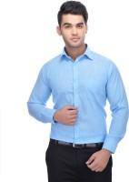 Ben Martin Formal Shirts (Men's) - Ben Martin Men's Solid Formal Blue Shirt