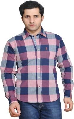 Ubho Men,s Checkered Casual Multicolor Shirt