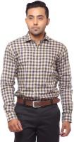 Fa French America Formal Shirts (Men's) - FA French America Men's Checkered Formal Multicolor Shirt