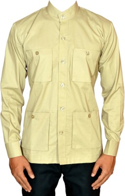 THE BAALAMS Men's Solid Casual Multicolor Shirt