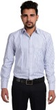 RIWAS COLLECTION Men's Striped Formal Bl...