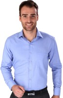 Magson Ace Formal Shirts (Men's) - Magson Ace Men's Solid Formal Blue Shirt