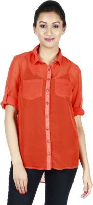 Kasturi Women's Solid Casual Shirt