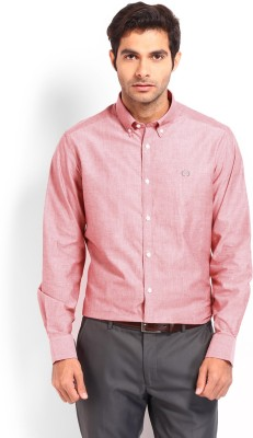 Nord51 Men's Solid Casual Red Shirt