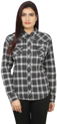 M&F Women's Checkered Casual Multicolor Shirt