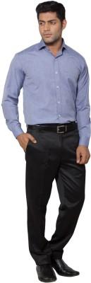 Slg Retail Pvt Ltd Men's Solid Formal Purple Shirt
