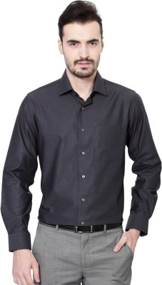 Van Heusen Men's Printed Casual Grey Shirt