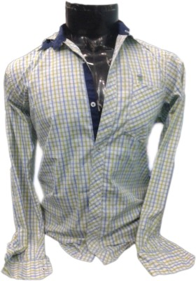 SPYKEY Men's Self Design Casual Multicolor Shirt