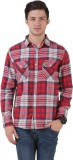 Mind The Gap Men's Checkered Casual Mult...