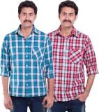 SML Originals Men's Checkered Casual Mul...