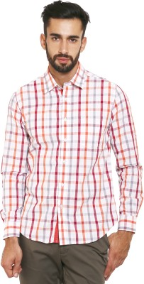 Classic Polo Men's Checkered Formal Multicolor Shirt