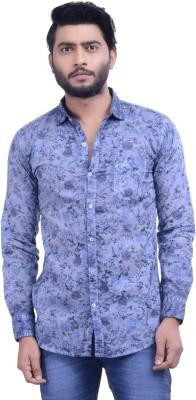 Hoffmen Men's Self Design Casual Multicolor Shirt