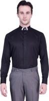 Protext Premium Formal Shirts (Men's) - Protext Premium Men's Solid Formal Black Shirt