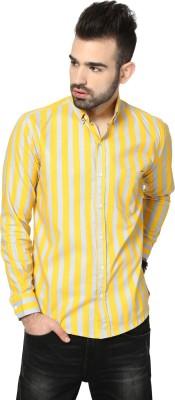 Hubberholme Men's Printed Casual Multicolor Shirt