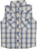 Hunny Bunny Girls Checkered Casual White...