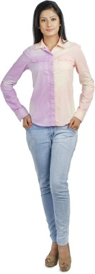 Addyvero Women's Solid Casual Multicolor Shirt at flipkart