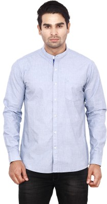 ANDY TRENDZ Men's Solid Casual Light Blue Shirt