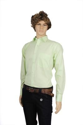 Eco-Solar Garments Men,s Solid Casual Green Shirt