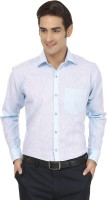 Jainish Formal Shirts (Men's) - Jainish Men's Solid Formal Light Blue Shirt