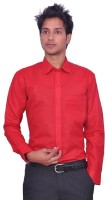 Atul Formal Shirts (Men's) - ATUL Men's Solid Formal Red Shirt