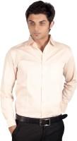 Proactive Formal Shirts (Men's) - Proactive Men's Self Design Formal Orange Shirt