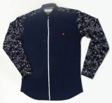 ARCS Agencies Men's Printed Casual Blue,...