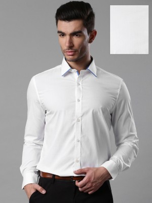 Invictus Men's Solid Formal White Shirt