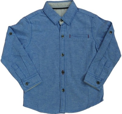 Babyaddis Baby Boy's Solid Formal Shirt
