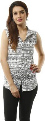 Lynda Women's Printed Casual Multicolor Shirt