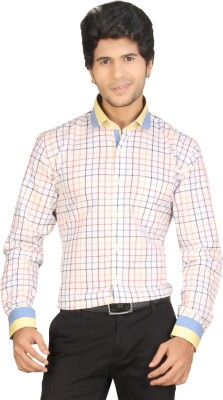 Red Country Men's Striped Casual Multicolor Shirt