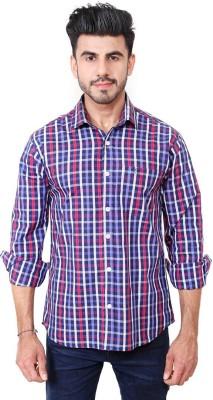 Solzo Men's Checkered Casual Multicolor Shirt