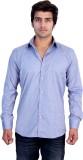 25th R Men's Printed Casual Grey Shirt