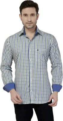 Jazzup Men's Checkered Casual Multicolor Shirt