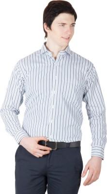 Robin Rider Men's Striped Casual Multicolor Shirt