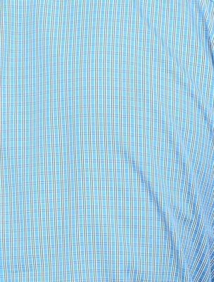 Countryside Men's Checkered Formal Blue, White, Black Shirt