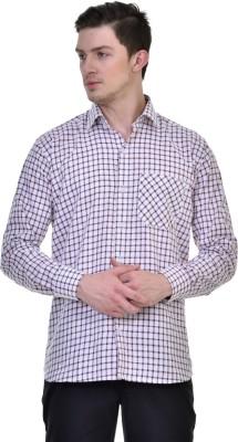 Comfortline Men,s Checkered Casual Maroon Shirt