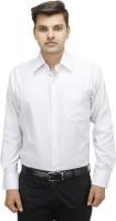 Koutons Outlaw Formal Shirts (Men's) - Koutons Outlaw Men's Striped Formal White Shirt
