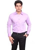 V. Formal Shirts (Men's) - V.O COUTURE Men's Solid Formal Beige Shirt