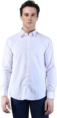Magnoguy Men's Solid Formal Grey Shirt