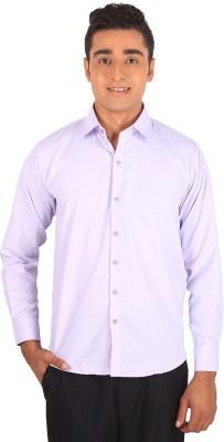 Henry Spark Men's Solid Formal Pink Shirt